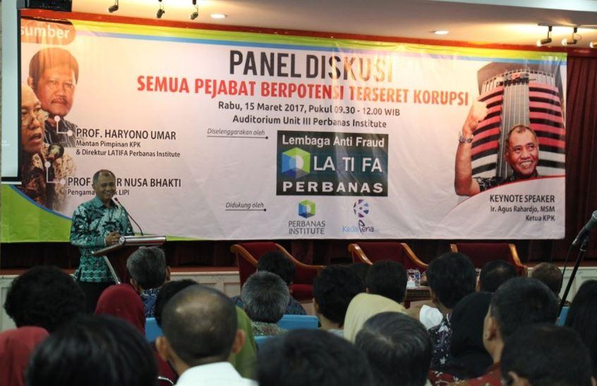 Lembaga Anti Fraud Perbanas Selenggarakan Diskusi Panel Anti Fraud