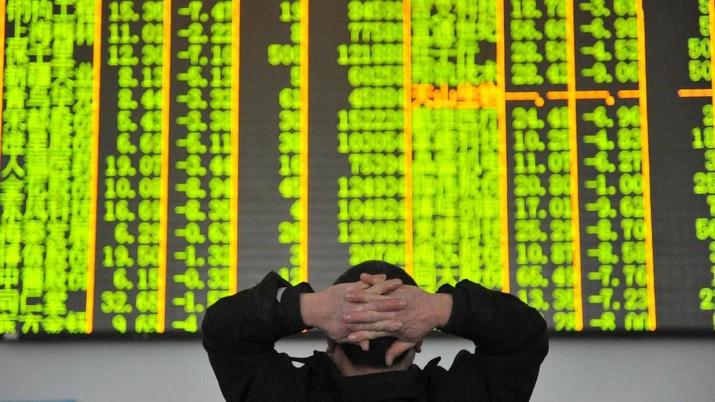 Ekonomi China Melambat Pasca Perang Dagang Dengan AS